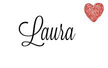 Schriftzug Laura